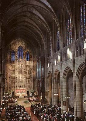 The Mystery Worshipper St Thomas New York City Usa
