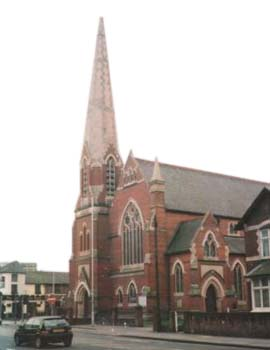 WESLEY METHODIST CHURCH, Reading, UK
